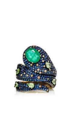 One of a kind bahar ring by LAUREN CRAFT COLLECTION Preorder Now on Moda Operandi