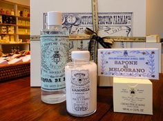 obsessed with santa maria novella's products & packaging