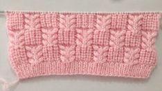 Crochet Stitches For Blankets, Knitting Stitches, Knitting Patterns, Crochet Patterns, Knitting Machine, Knitting Needles, Unique Crochet, Easy Crochet, Crochet Baby