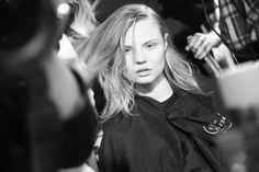 Anja Rubik, Fashion Week, Fashion Models, Magdalena Frackowiak, Jacquemus, Polish Models, Anthony Vaccarello, Backstage, Paris