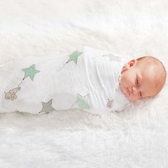 Aden + Anais Classic Swaddles 4 Pack - Up And Away   Baby www.duematernity.com