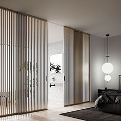 Delightful modern interior barn doors - check out our report for a whole lot more tips and hints! Design Your Bedroom, Bedroom Closet Design, Internal Sliding Doors, Sliding Glass Door, Contemporary Internal Doors, Door Design, House Design, Door Dividers, Boffi