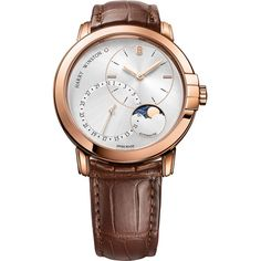 Harry Winston [NEW] Midnight Date Moon Phase automatic white gold timepiece white light set with one diamond dial Harry Winston, Latest Watches, Watches For Men, Elegant Watches, Moon Phases, White Light, Luxury Watches, White Gold, Rose Gold