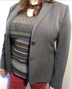 Blazer Tela Gris Talla 46: Blazer de tela color gris Calvin Klein, Blazer, Jackets, Men, Fashion, Leather Jacket, Gray Fabric, Grey Colors, Down Jackets
