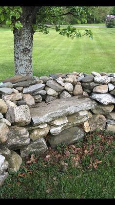 Landscaping With Rocks, Yard Landscaping, Landscaping Ideas, Backyard Gates, Garden Gates, Land Art, Rock Wall Gardens, Slate Patio, Patio Plans