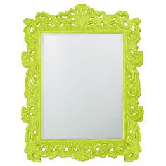 "Howard Elliott Napoleon Glossy Moss Green Mirror 63"" x 85"" x 2"""