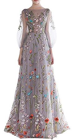Dobelove Women's Long Sleeves Floral Embroidery A-line Ev... https://www.amazon.com/dp/B01N3CPZFY/ref=cm_sw_r_pi_dp_x_SAo0yb8JK8PEM