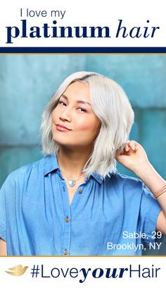 """I grew up thinking I couldn't be blonde because Asians just didn't do that."" - Sable, age 29. Let's break down the beauty standards that prevent women from wearing their hair however they want. See what Dove Hair is doing to redefine beautiful hair at Pinterest.com/DoveHair. #LoveYourHair"