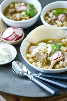 Serve with easy posole with warm flour or corn tortillas. Leftovers are great the next day...crock pot meal!!!