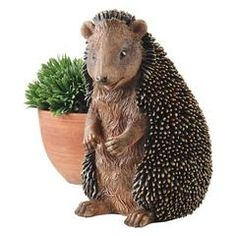 Classic Garden Decor – XoticBrands Home Decor Halsey, Hedgehog House, Garden Animals, Crushed Stone, Most Beautiful Gardens, Animal Statues, Garden Statues, Outdoor Statues, Wall Sculptures