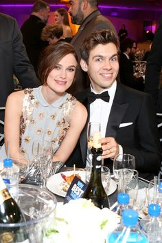 Keira Knightley cuddled up to her husband, James Righton.