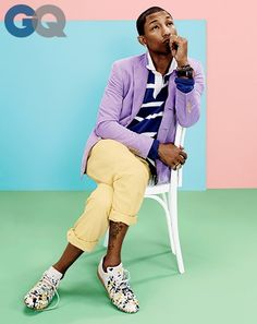 copilot style celebrities 201404 1395689353727 pharrell williams gq magazine april 2014 mens style fashion color 06