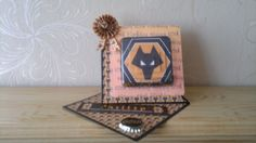 Wolves fc birthday slanted easel