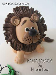 blue animal cake - Google Search