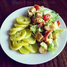 Sugar Free Like Me: Low Carb Hamburger Salad
