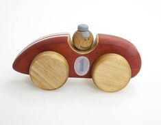 The wood car is created to be a safe and natural friend to a child. Our wooden toys for boys are quality crafted and sanded satin smooth. All materials we use are 100% natural, biodegradable and safe for children. The race car toy is one of best wooden toys for toddlers ! Materials