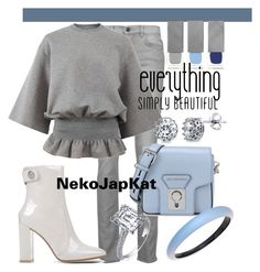 """""""patentleather3"""" by neko-m-tucker-smith ❤ liked on Polyvore featuring Proenza Schouler, Gianvito Rossi, STELLA McCARTNEY, Burberry, Karl Lagerfeld, Alexis Bittar and BERRICLE"""