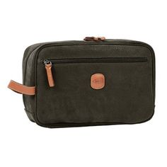 Bric's Luggage Life Traditional Shave Case, Olive, One Size Bric's. $160.00. Water and stain resistant fabric that looks like suede easy cleaning and durable. Hand strap for carrying. Nylon interior easy cleaning. Pvc Coated Cotton Canvas