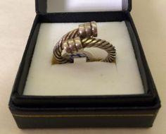 Vintage Mens Silver Ring  Size 10  $40  Dealer #282  Lula B's  1010 N. Riverfront Blvd. Dallas, TX 75207
