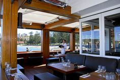 Positioned on the iconic Manly Wharf, Hugos Manly offers an unforgettable dining experience in one of Sydney's most spectacular waterfront locations. Outdoor Living, Outdoor Decor, Patio, Architecture, Places, Furniture, Home Decor, Rv, Restaurants