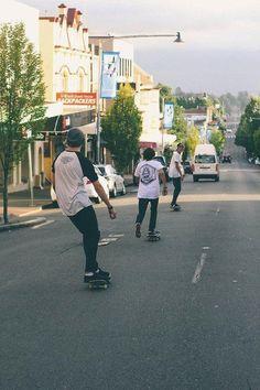 downhill, boy, skate, boys, street, teenager