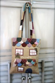 "TWINKLE PATCHWORK: Bolso "" Sewing Dreams """