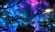 El parque temático de 'Avatar' creará un mundo de naturaleza bioluminiscente