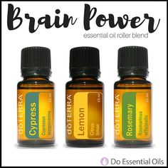 Give your brain a boost with this powerful essential oil blend that helps clear the mind, promote concentration, clarify thoughts, and gets your brain going! A must-needed necessity for back-to-school. Use a 10mL glass roller bottle and add: 2 drops Cypress 5 drops Rosemary 6 drops Lemon -Fill the rest of the bottle with Fractionated Coconut oil. -Shake well to mix the oils.