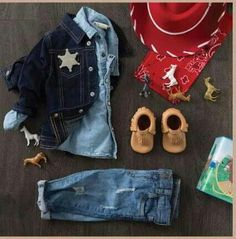 Western outfit for a boy.