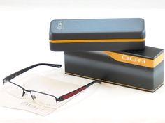 Authentic New OGA Morel Eyeglasses Frame 74140 NR050 Matte Black Plastic Metal #OGA