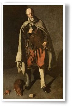 Georges de La Tour (1593-1652) - Le Vielleur au chien. Musée du Mont-de-Piété de Bergues (Nord-Pas-de-Calais, France)