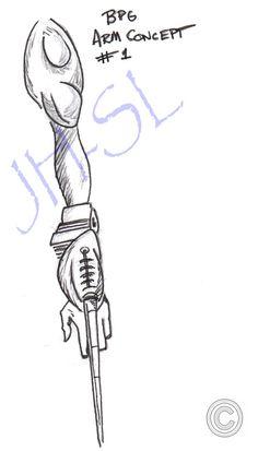 BPG Arm concept by Scott Loesch.