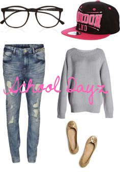 Skinny jeans, over sized sweater, flats Swag Outfits, Outfits For Teens, Cool Outfits, Casual Outfits, Fashion Outfits, Casual Wear, Cute Fashion, New Fashion, Fashion Trends