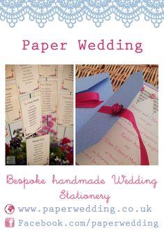 www.paperwedding.co.uk www.facebook.com/paperwedding