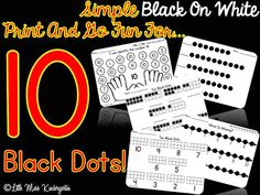 Ten Black Dots And A Freebie!