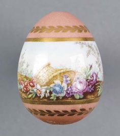 Berlin Porcelain Easter Egg  Germany, 1810  Christie's