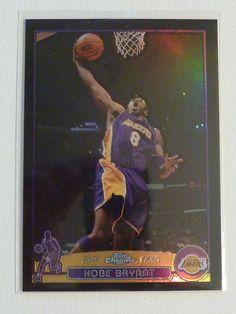 2003-04 Topps Chrome KOBE BRYANT Black Refractor #36 #302/500 RARE LA Lakers #LosAngelesLakers http://www.ebay.com/itm/2003-04-Topps-Chrome-KOBE-BRYANT-Black-Refractor-36-302-500-RARE-LA-Lakers-/282049389813?ssPageName=STRK:MESE:IT
