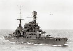 Battlecruiser HMS Repulse, 1926.