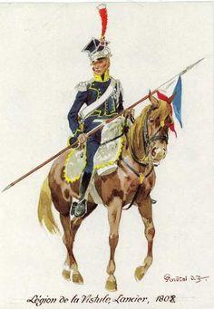 Vistula Legion Lancer 1808