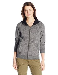Element Juniors How So Zip Up Fleece Black Large ** Be sure to check out this awesome product.
