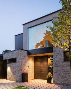 66 Beautiful Modern House Designs Ideas - Tips to Choosing Modern House Plans Modern Exterior Design Ideas Luxury Home Minimalist House Design, Modern House Design, Modern Exterior, Exterior Design, Modern Architecture House, Architecture Design, Residential Architecture, Amazing Architecture, Exterior Tradicional