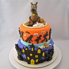 Clever Wren: Scooby-Doo Cake - Cake of Cakes!