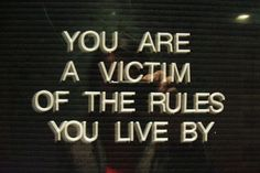 dont be a victim