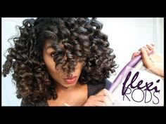 Why your flexi rods on natural hair don't look good? Here are some great ways to get lovely curls using flexi rods on natural hair! If you want your hair . Natural Hair Tutorials, Natural Hair Tips, Natural Curls, Natural Hair Styles, Natural Beauty, Heatless Curls, Natural Hair Inspiration, Thing 1, Hair Videos