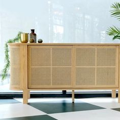 A sideboard is a statement piece of furniture that can serve in various ways - In dining rooms, it provides extra storage and table space to display your decorative buffet spread; In living rooms, it presents a space to showcase those collectable treasures. Sideboard Furniture, Living Room Furniture, Dining Rooms, Wood Creations, Teak Wood, Sliding Doors, Rattan, Home Furnishings, Storage Spaces