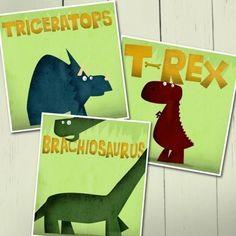 For Oliver's dinosaur room.