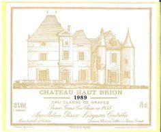 Haut Brion 1989! What a vintage!