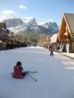 Winter Carnival in Canmore, Alberta. Canmore is approximately 50 miles west of the City of Calgary near the southeast boundary of Banff National Park. It is located in the Bow Valley within Alberta's Rockies.          #Canmore