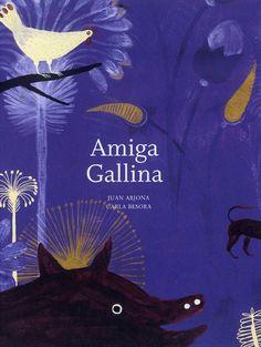 Amiga Gallina es un cuento que habla de la amistad entre un perro, un cerdo y una gallina que deciden salir del corral en el que viven para conocer el mundo...
