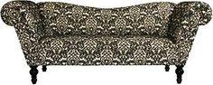 Kidwell Sofa - Black + White Damask » Designer8